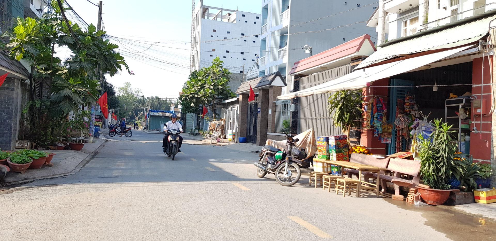 Đất Mặt Tiền Quận 9 Đường 160 Ngay Tăng Nhơn Phú A. Cách Ngã Tư Thủ Đức Chỉ 1,5km. Giá Cực Tốt 3,27 tỷ