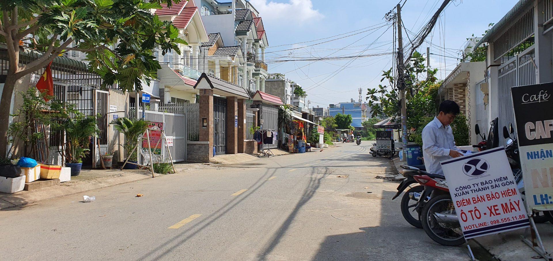 Nhà Mặt Tiền Quận 9,Ngay Đường P Tăng Nhơn Phú A . DT 124m2 Giá 6.2 tỷ