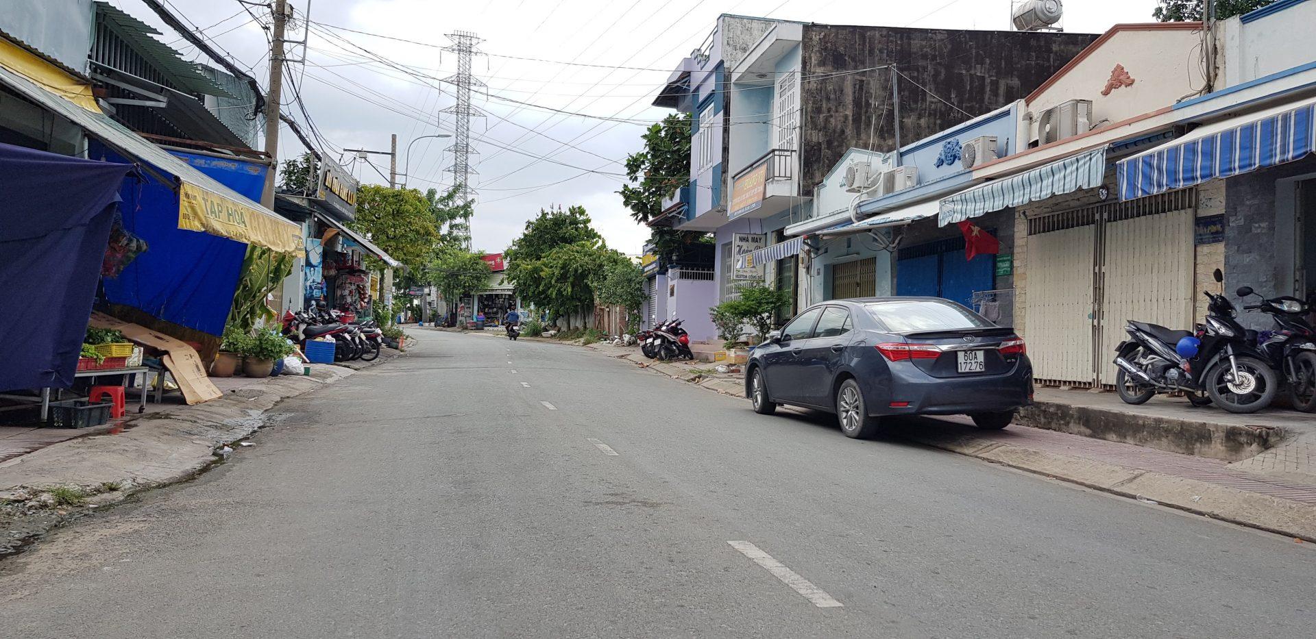 Bán Đất Mặt Tiền Quận 9 đường Tân Hòa 2, DT 110m2, quy hoạch đường 16m, vị trí khu trung tâm, dân đông